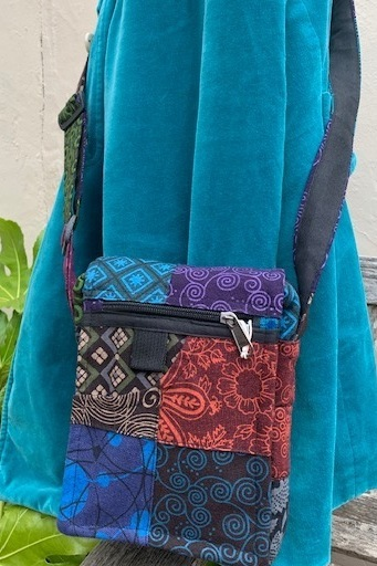 Handmade Patchwork small Messenger Bag
